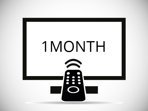 One Month IPTV Subscription