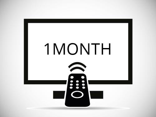 One Month IPTV