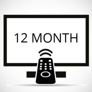 Twelve Month IPTV
