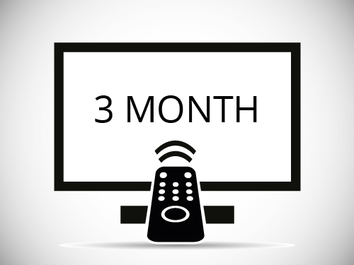 Three Month IPTV