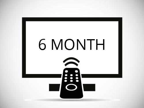 Six Month IPTV